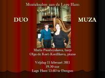 DUO MUZA, met Maria Pozdnyakova, harp