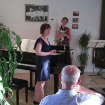Huisconcert met Angeline Cuijpers, saxofoon