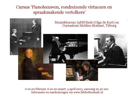 Cursus Pianisten, Tilburg