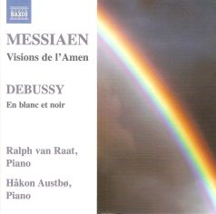 Messiaen-Debussy-music fortwopianos