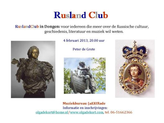 RuslandClub-4februari2013-PeterdeGrote