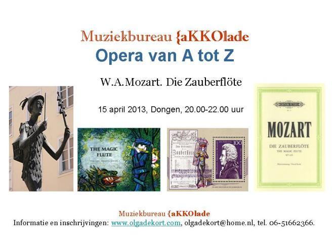 Die Zauberflote.Mozart, 15.04.2013-Akkolade