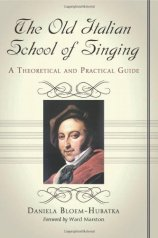 D.Bloem-Hubatka. The old Italian school of singing