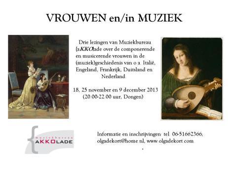 vrouwen en muziek