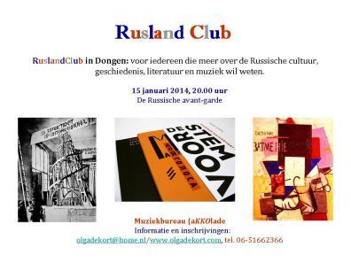 RuslandClub-15januari2014-Avant-garde-OdeKort