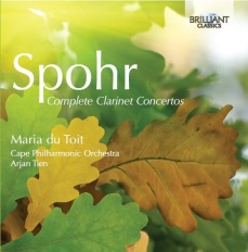 Spohr-Complete-Clarinet-Concertos-Maria-du-Toit-Front-Cover