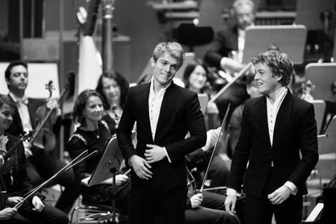 Arthur & Lucas Jussen - foto Susanne Diesner