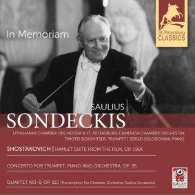 CD In memoriam Saulius Sondeckis - kaft
