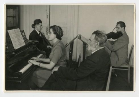 Kamermuziekklas - A.F.Gedicke -S.TanejevWetenschappelijkeMuziekbibliotheekConservatoriumMoskou